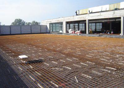 Puławy - lodowisko na dachu centrum handlowego