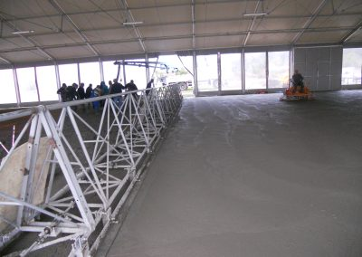 Lodowisko w Działdowie - budowa płyty